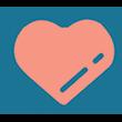 Heart small graphic