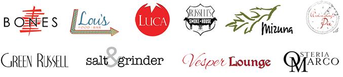 Bonanno restaurant logos