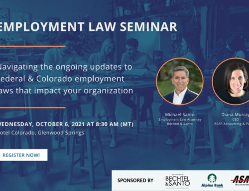Employment Law Seminar – October 6, 2021