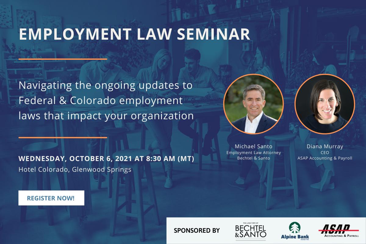 Employment Law Seminar Registration