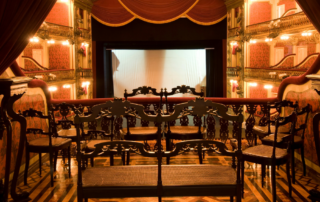 Theater stage & seating